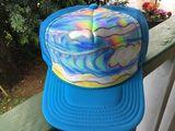 Original painted hat