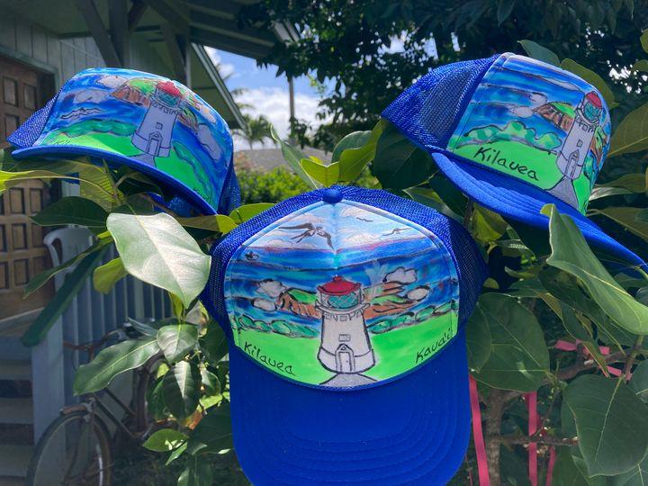 Kilauea, Kauai hat - Just Lupita aka Yaqui Yaiyai
