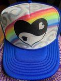 Yin and yang heart rainbow