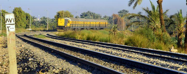 train in my way - khaled telmissany