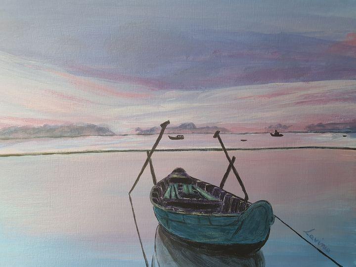 Calming waters - Lavinia Art Studio
