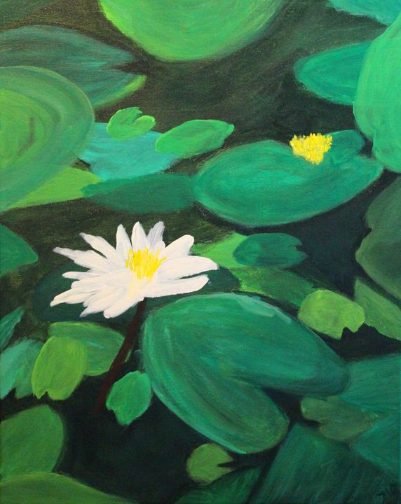 Nancys' Lilies - OzMan Artistry