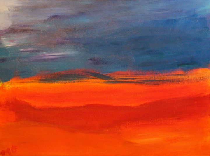 Blue Meets Orange - OzMan Artistry