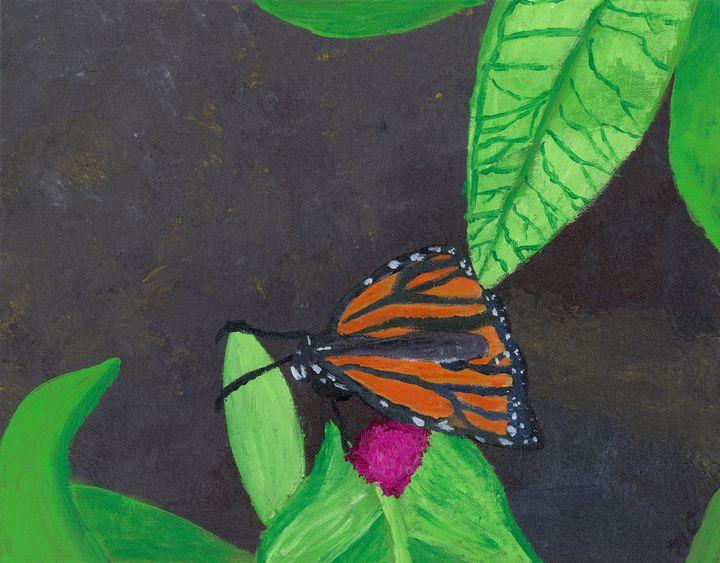 The Resting Monarch - OzMan Artistry