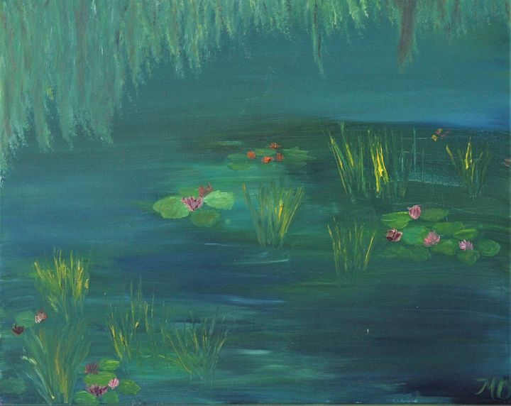 Reflections on Monet - OzMan Artistry