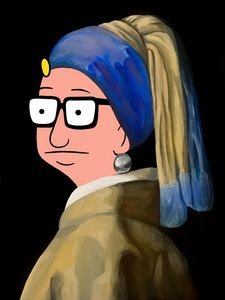 Tina With a Pearl Earring