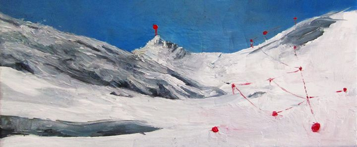 Landscape in snow - Mrougenero_Dimitra Bouritsa