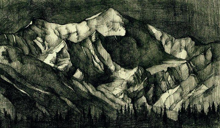 Study for a mountain - Mrougenero_Dimitra Bouritsa