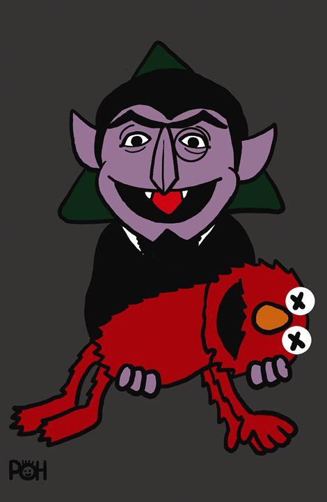 Count and Elmo - Doodles Handlon