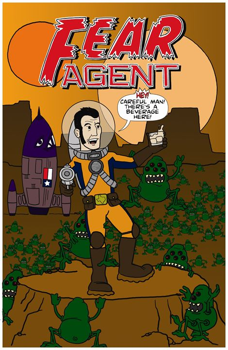 Fear Agent - Doodles Handlon