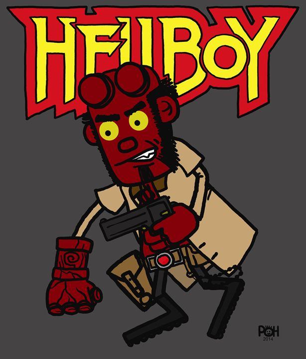 Hellboy - Doodles Handlon
