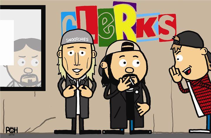 Clerks - Doodles Handlon