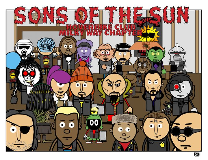 Suns of the Son - Doodles Handlon