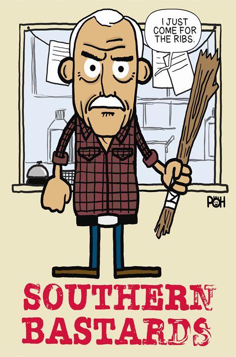 Southern Bastards - Doodles Handlon