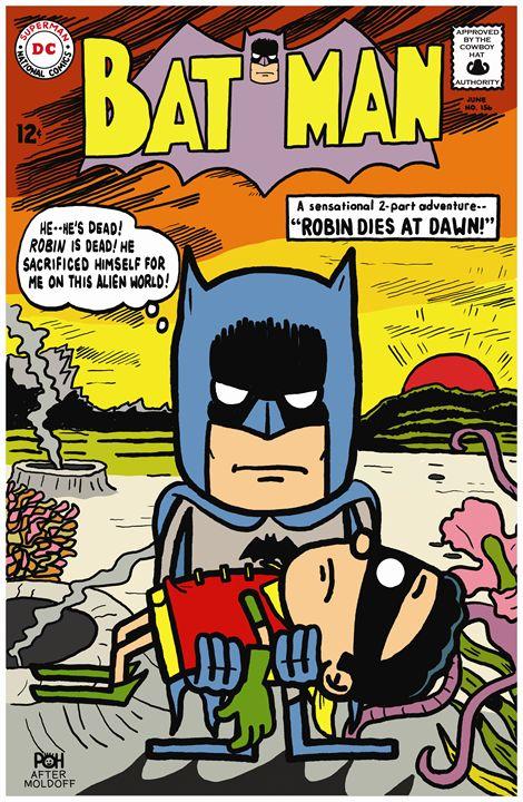 Batman 156 - Doodles Handlon