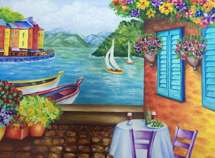 Portofino. Summertime. - Dremova Elena