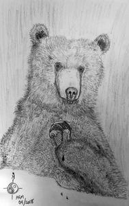 Bear with Ice Cream