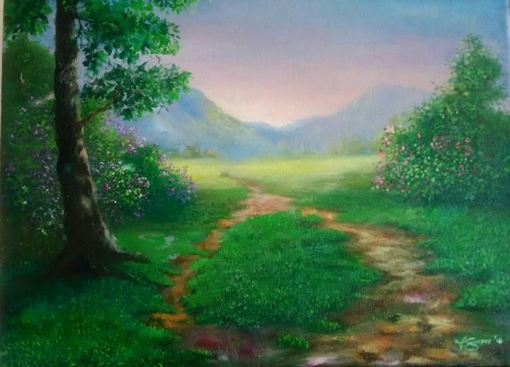 """Morning Walk"" - Vicky Gasper"