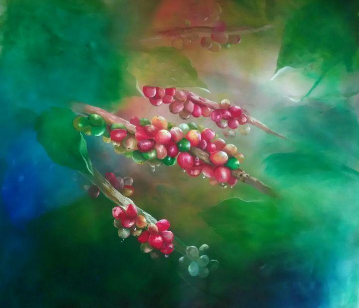 """Coffee Cherries"" - Vicky Gasper"
