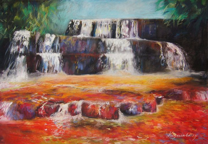 Jasper Falls - Sweet colors