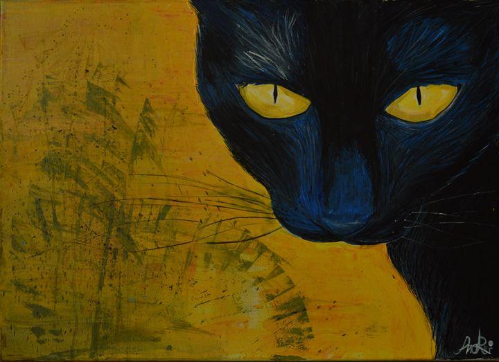 Black cat - insane imagination