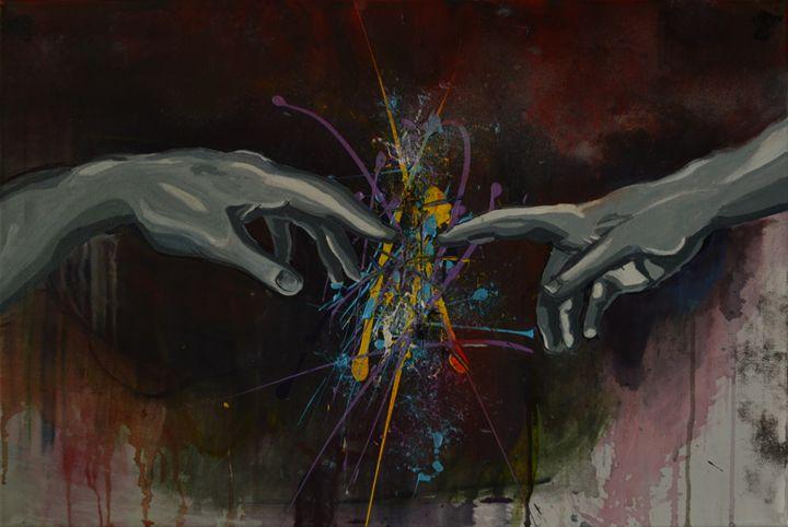 Human and divine - insane imagination
