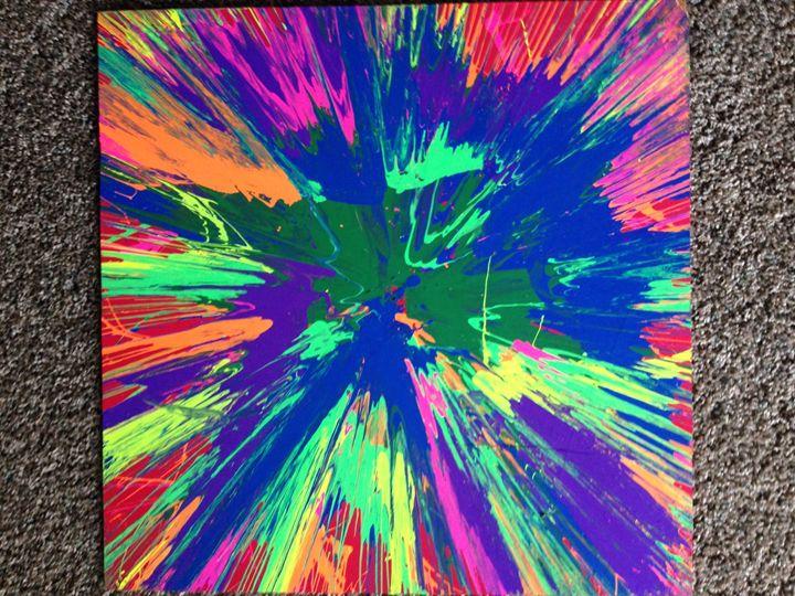 4 - Michigan spin art