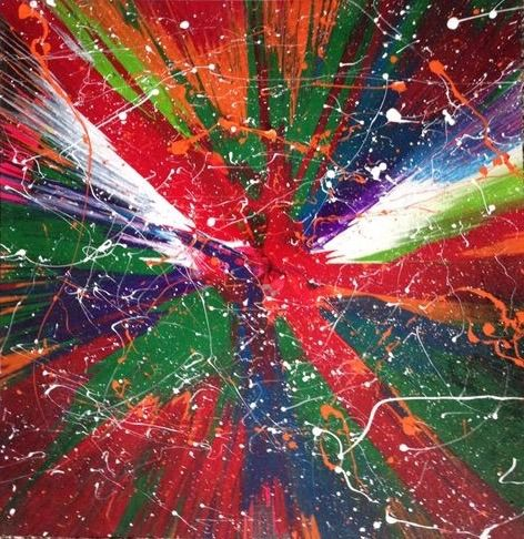 Spin art 3 - Michigan spin art