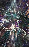 Galactic explosion