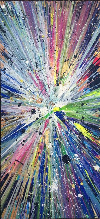 Spincityart - Michigan spin art