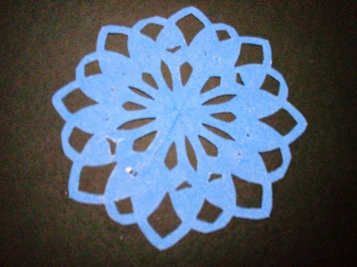 blue flower - Kai-Pay Art House