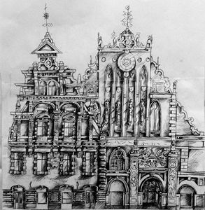 Architecture in Pen