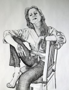A PORTRAIT WITH A CHAIR