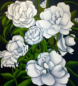 White Gardenias