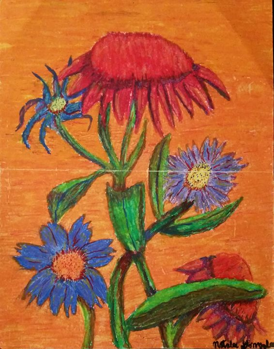 The Beauty of Flowers - Natalee Gonzales