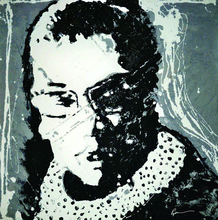 A Tribute To Ruth Ginsburg - Rebecca Robinson Art Prints