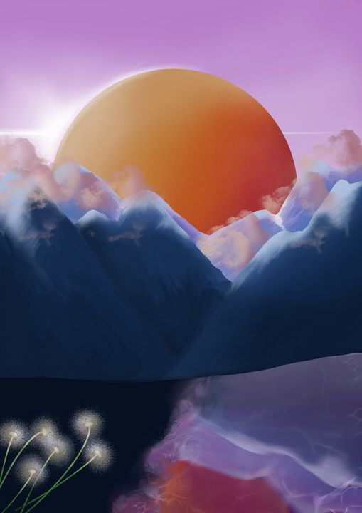 Sunset - Illustrations
