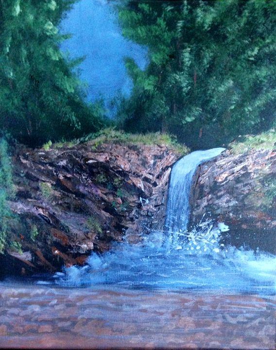 Waterfall - Mariko