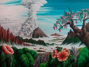 Gunung Sinabung, Sumatra