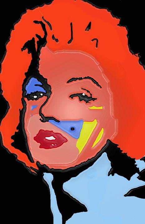 Marilyn Monroe In Color - robertmargetts
