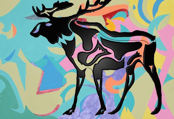 The Grateful Dead Moose in Plastic - robertmargetts