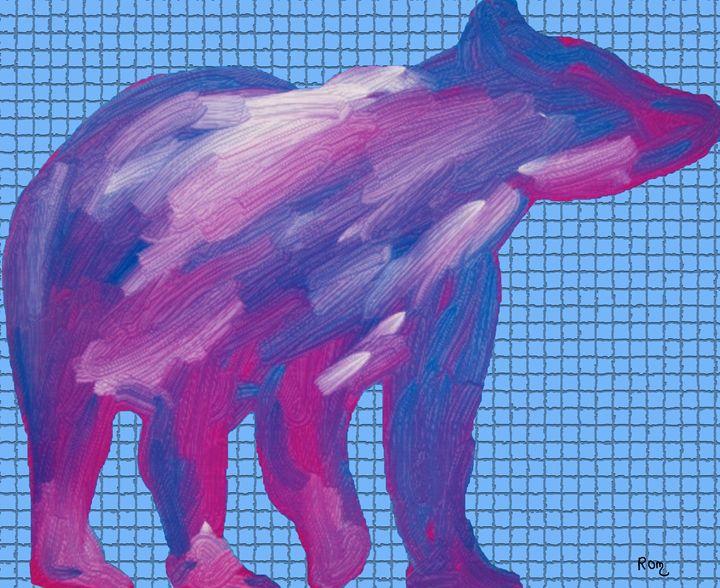 Blue Bear - robertmargetts