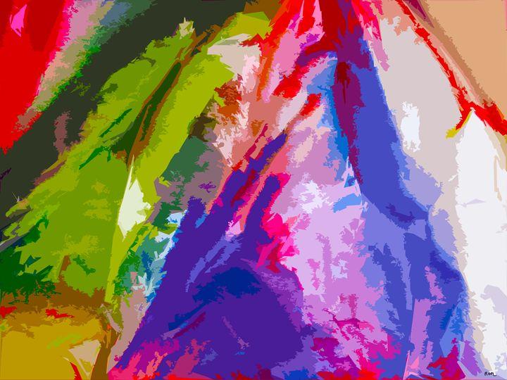 Purple Abstract - robertmargetts
