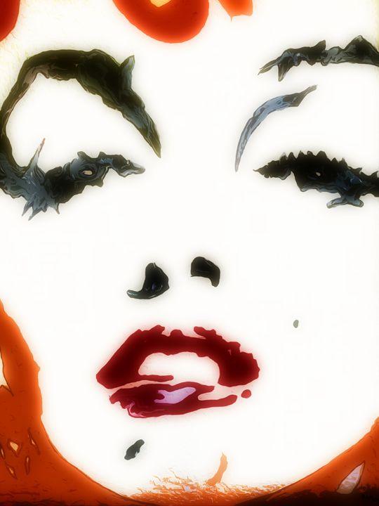 Marilyn in Red - robertmargetts