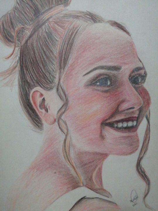 Self portrait - Almarie Creations