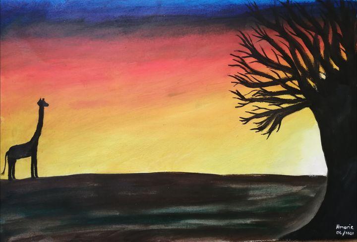 Sunset balst - Almarie Creations
