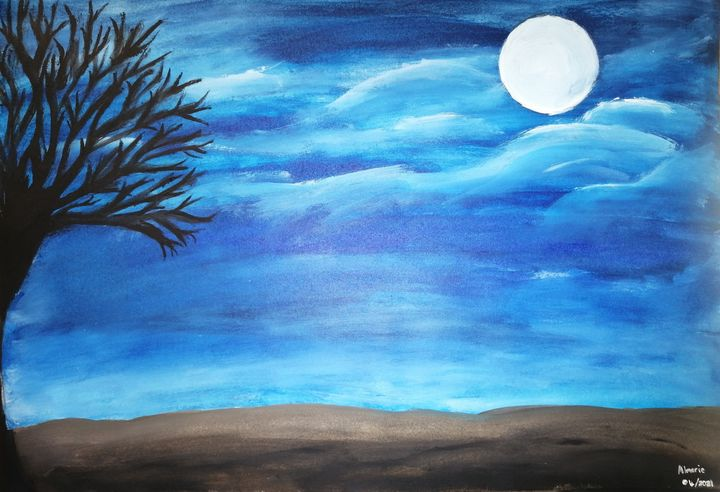 African night sky - Almarie Creations