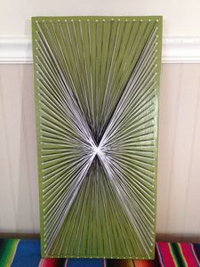 Star Burst String Art