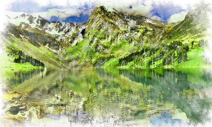 Mountains - Wills art