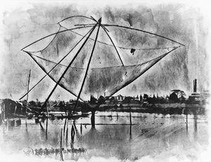 Net Fishing on the Mekong